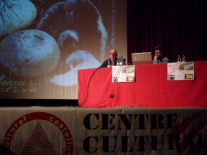 Bolets i Fongs amb Paco Miró presentant Joande MIra